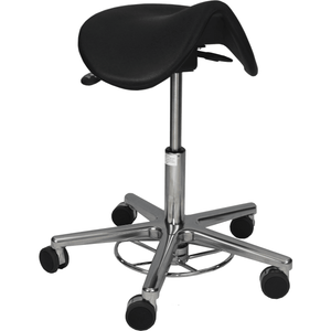 Milagon Tasq Saddle Stool, WS3520KL - Garage Tools Storage
