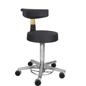 Milagon Tasq Cushioned Stool, WS3920GMP - Garage Tools Storage
