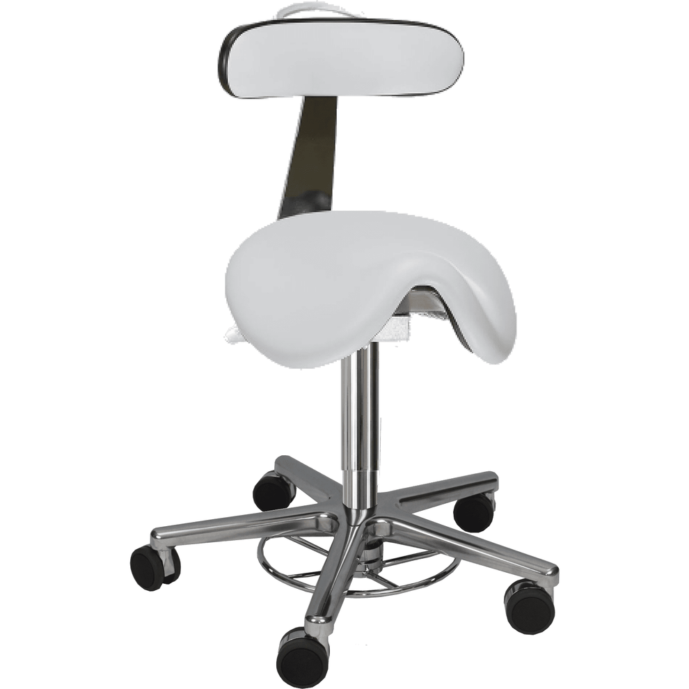 Milagon Tasq Saddle Stool, WS3520KLGMP - Garage Tools Storage