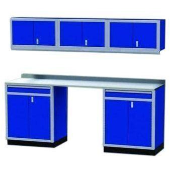 Image of Moduline Garage PRO II Cabinet Combo 6 Pieces 8 Foot Wide #PGC008-06X Standard