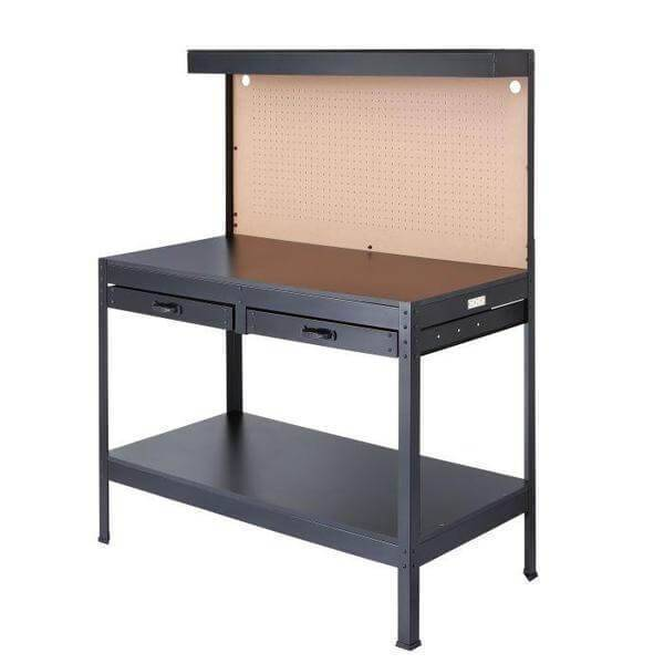 Olympia Tools Multipurpose Workbench with Pegboard Backing 82-802