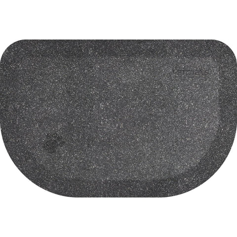 "Image of WellnessMats PetMat SM Rounded 27"" X 18"" X 1"" PM2718RGS,SilverHaven"