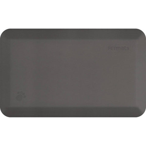 "WellnessMats PetMat SM Squared 28"" X 17"" X 1"" PM2817SGRY,Gray Cloud"