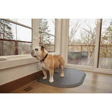 "WellnessMats PetMat MD Rounded 36"" X 24"" X 1"" PM3624RGRY,Gray Cloud"