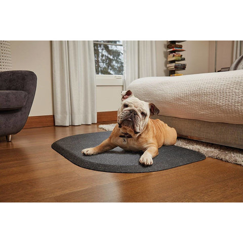 "WellnessMats PetMat MD Rounded 36"" X 24"" X 1"" PM3624RGS,SilverHaven"