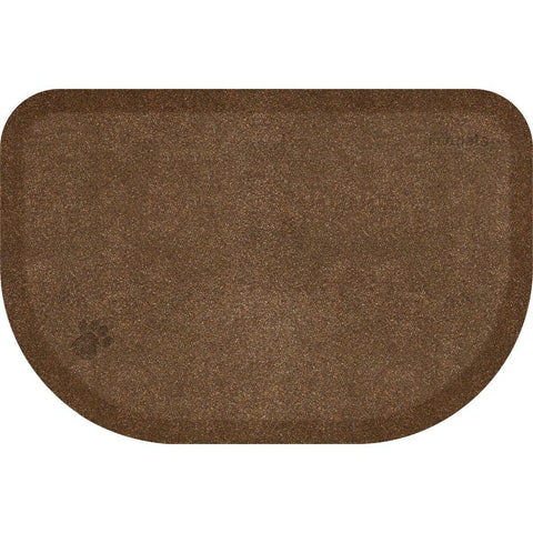 "WellnessMats PetMat LG Rounded 45"" X 30"" X 1"" PM4530RGC,GoldenRetreat"