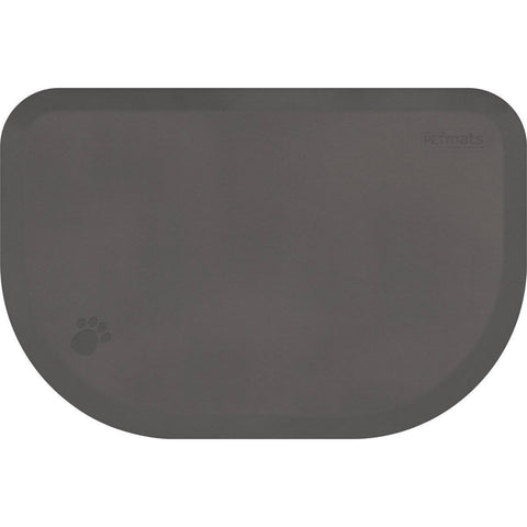 "Image of WellnessMats PetMat LG Rounded 45"" X 30"" X 1"" PM4530RGRY,GrayCloud"