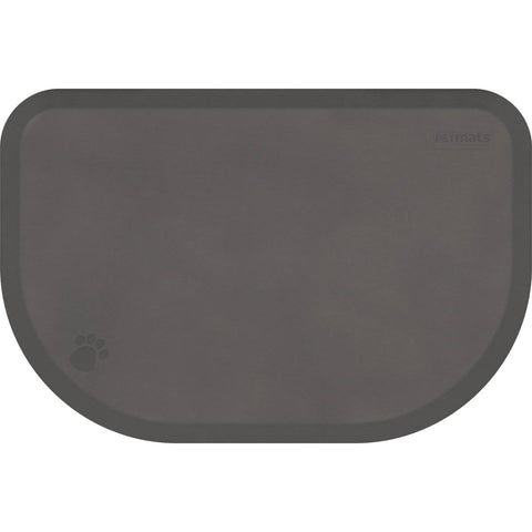 "WellnessMats PetMat XL Rounded 54"" X 36"" X 1"" PM5436RGRY,GrayCloud"