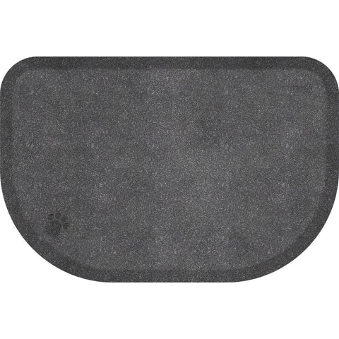 "Image of WellnessMats PetMat XL Rounded 54"" X 36"" X 1"" PM5436RGS,SilverHaven"