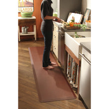 WellnessMats Puzzle R Series 9' X 2' A kitchen rug that relieves pressure and discomfort. A non-toxic ergo mat.