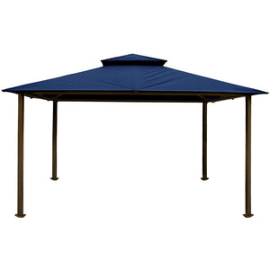 Paragon Outdoor Kingsbury Gazebo with Navy Top GZ584NN