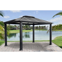 Paragon Santa Monica 11' x 13' Hard Top Gazebo GZ3