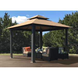 Paragon Outdoor Savannah Gazebo with Cocoa Top GZ634C