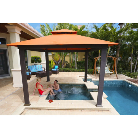 Paragon Savannah Gazebo with Rust Top GZ634R