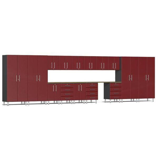 Ulti-MATE Garage 2.0 Ultimate 17-Pc Super-System Red Metallic