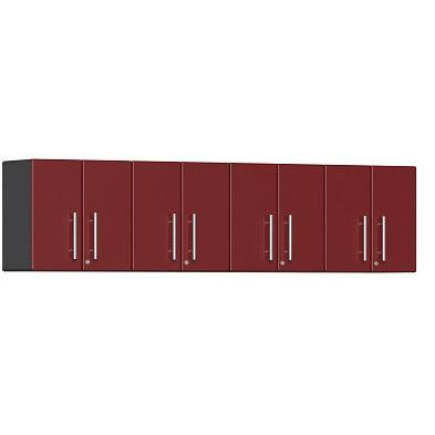 Ulti-MATE Garage 2.0 Ultimate 4-Pc Wall Cabinet Kit Red Metallic