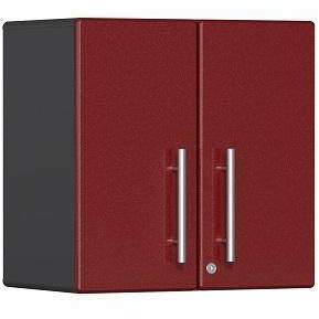 Ulti-MATE Garage 2.0 Ultimate 2-Door Wall Cabinet Red Metallic