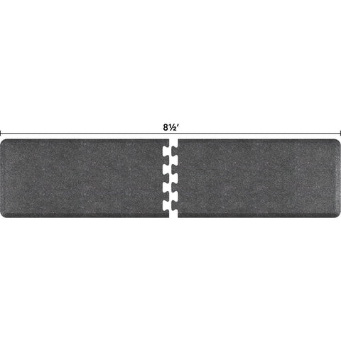 Image of WellnessMats Puzzle R Series 8.5' X 2' RS2WMP85GS,GraniteSteel