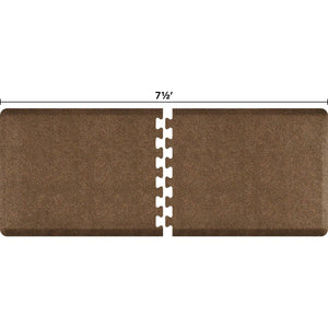 WellnessMats Puzzle R Series 7.5' X 3' RS3WMP75GC,GraniteCopper