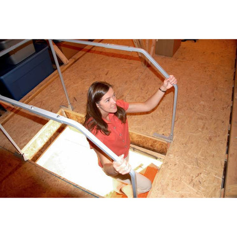 Image of Versa Rail Model 60 Attic Ladder Safety Rail, VRM60