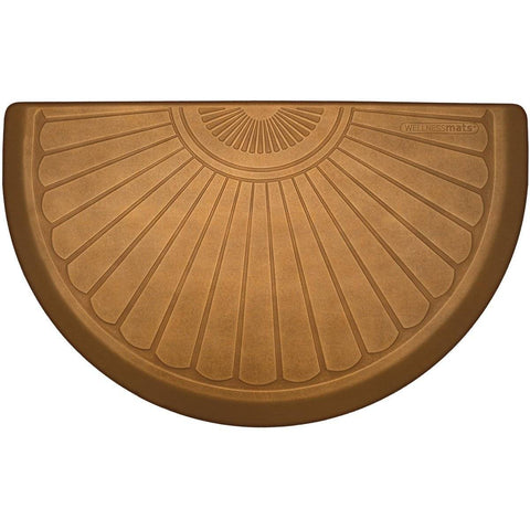 WellnessMats Studio Collection Semi Sunburst  STS3622CL,CopperLeaf