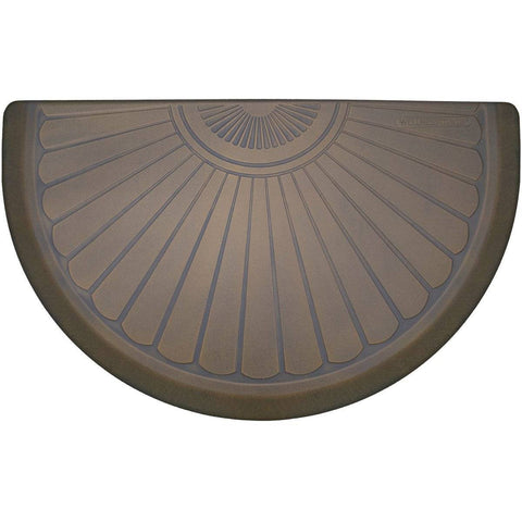 WellnessMats Studio Collection Semi Sunburst  STS3622BTAN,Oasis