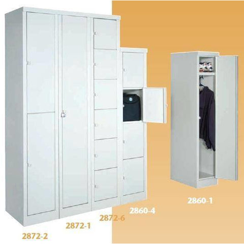 "Image of Parent Metal-Industrial Furniture 12 1/4""x18""x60""Set Up Locker 2860-4"