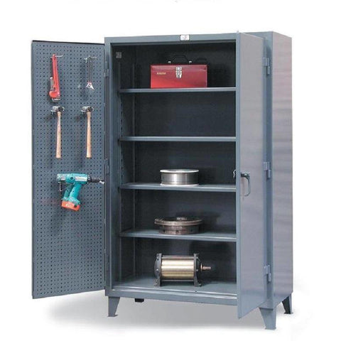 Strong Hold Peg Board Cabinet 36-PB-244 Garage Storage Cabinet