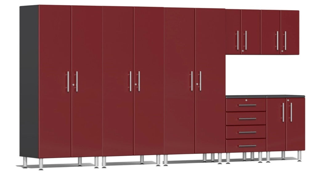 Ulti-MATE Garage 2.0 Series 7-Piece Kit Ruby Red Metallic UG25072R