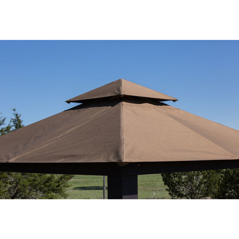 Paragon Savannah Gazebo with Cocoa Top GZ634C
