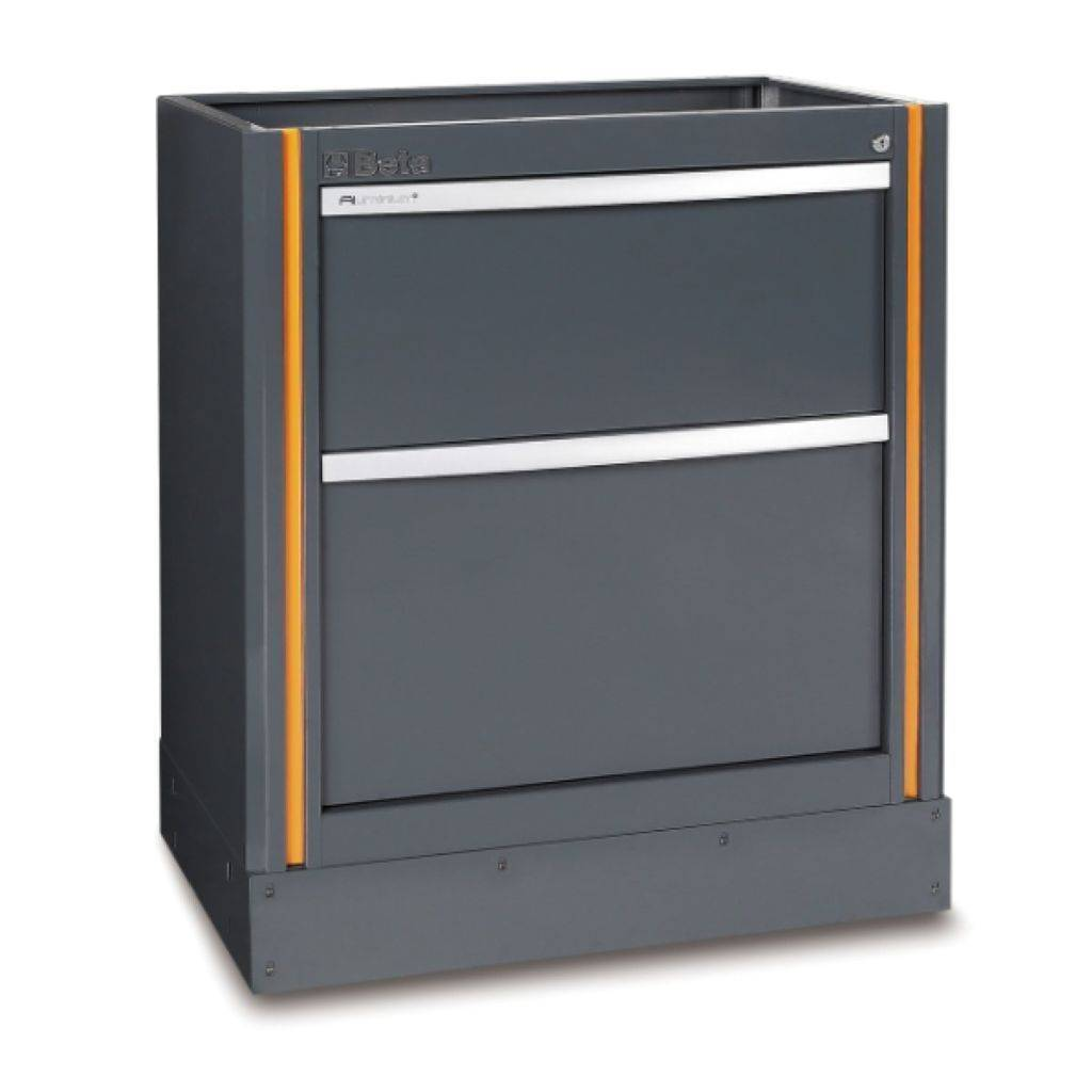 Beta Tools C55 M2-FIXED MODULE WITH 2 DRAWERS - Garage Tools Storage
