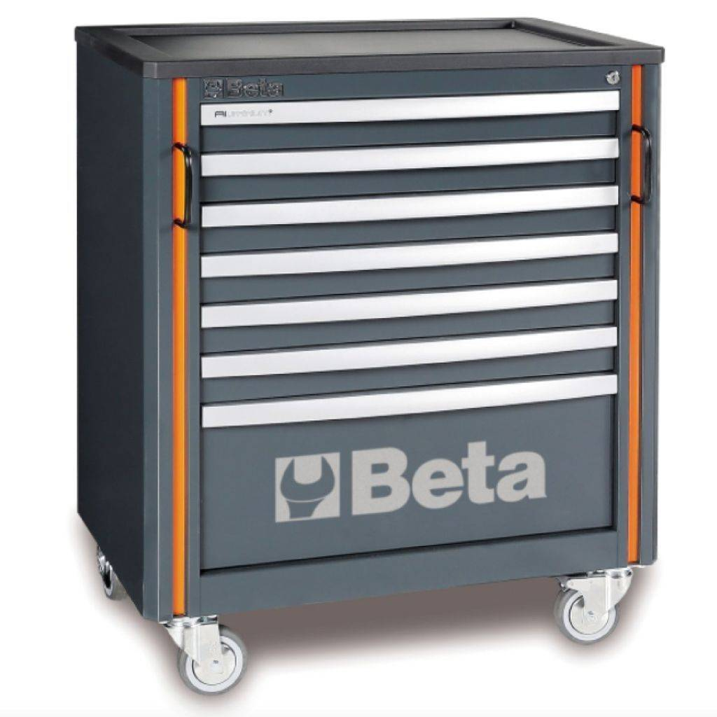Beta Tools C55 C7-MOBILE ROLLER CAB WITH 7 DRAWERS - Garage Tools Storage