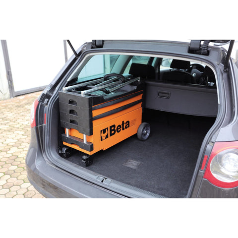 Image of Beta Tool Storage FOLDING TOOL TROLLEY C27S - Garage Tools Storage