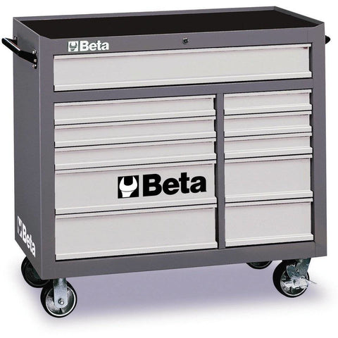 Image of BETA Tools C38R-MOBILE ROLLER CAB 11 DRAWERS Tool Chest - Garage Tools Storage
