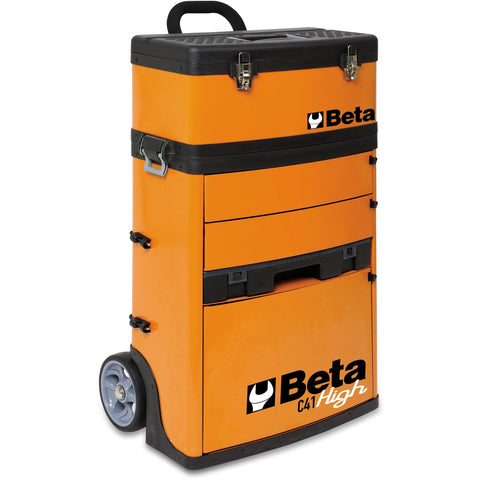 Beta Tools TWO-MODULE TOOL TROLLEY C41H - Garage Tools Storage
