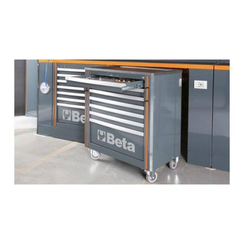 Image of Beta Tools Comprehensive Workshop Equipment Combination C55 - Garage Tools Storage