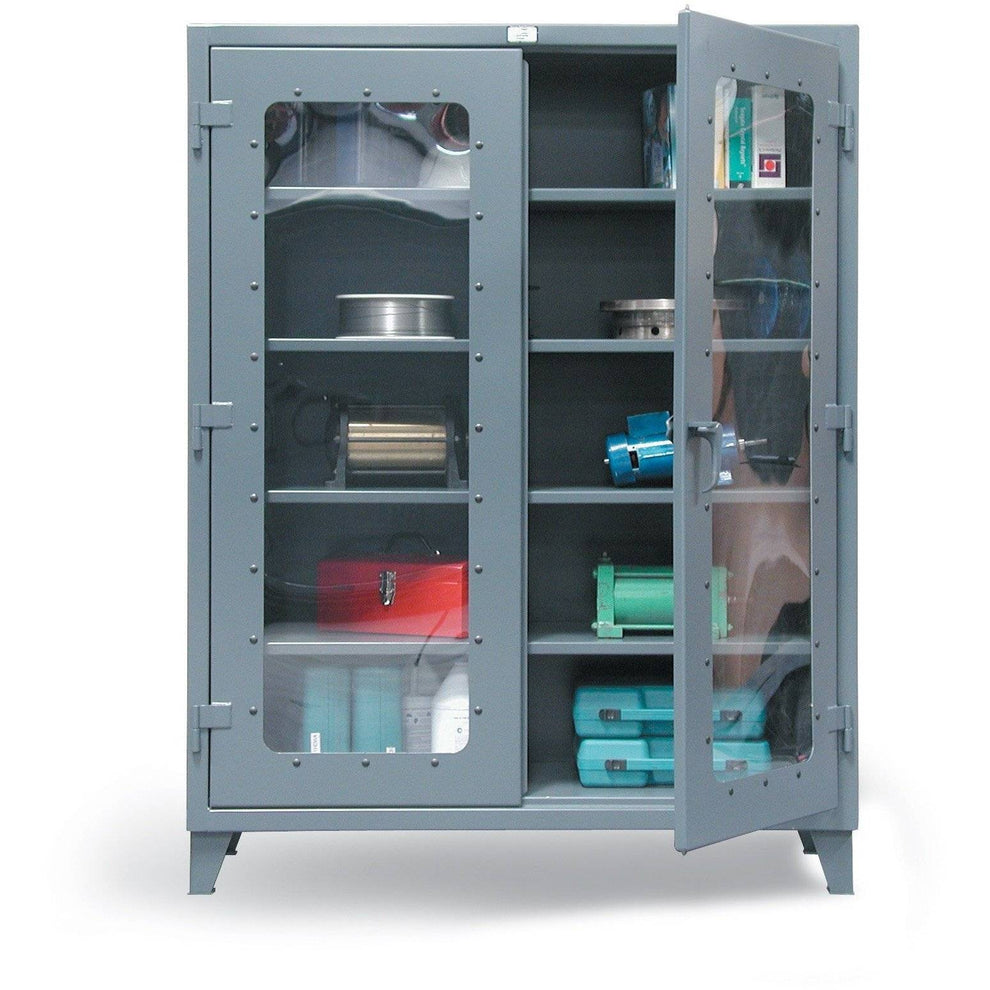 Strong Hold Clearview Door Storage Cabinet  46-LD-244 Garage