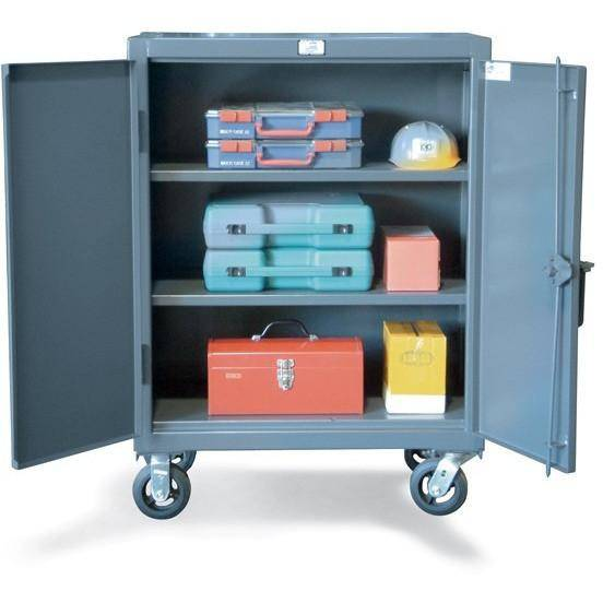 Strong Hold Welded Heavy Duty Mobile Countertop Cabinet 33-202CA