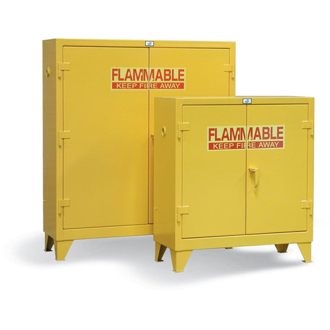 Strong Hold Flammable Cabinet 30.5PSC Heavy Duty Manual Close