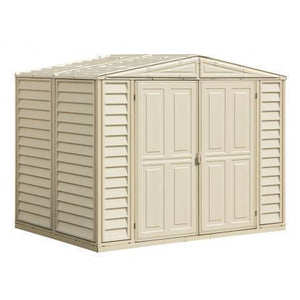 Duramax 8' x 5.5' DuraMate Shed with Foundation Kit 00184 - Garage Tools Storage