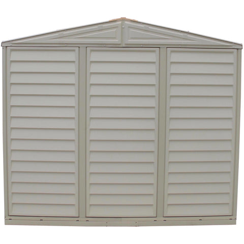 Image of Duramax 8' x 8' DuraMate Shed with Foundation Kit 00384 - Garage Tools Storage