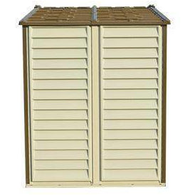 Duramax 8' x 6' StoreAll Vinyl Shed with Foundation 30115