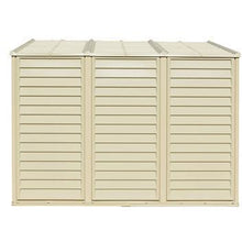 Duramax 4' x 8' SideMate Shed with Foundation 06625 - Garage Tools Storage