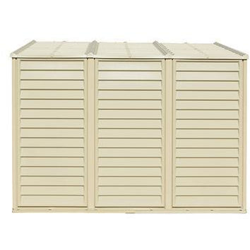 Image of Duramax 4' x 8' SideMate Shed with Foundation 06625 - Garage Tools Storage