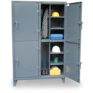 Strong Hold INDUSTRIAL COMPUTER CABINET WITH CASTERS 25-CC-242-RK-CA