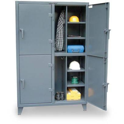 Image of Strong Hold INDUSTRIAL COMPUTER CABINET WITH CASTERS 25-CC-242-RK-CA