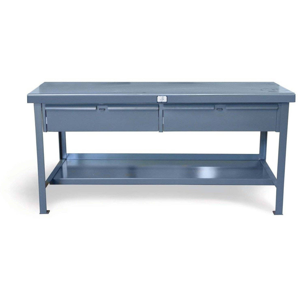 Strong Hold Shop Table with 2 Drawers T4830-2DB