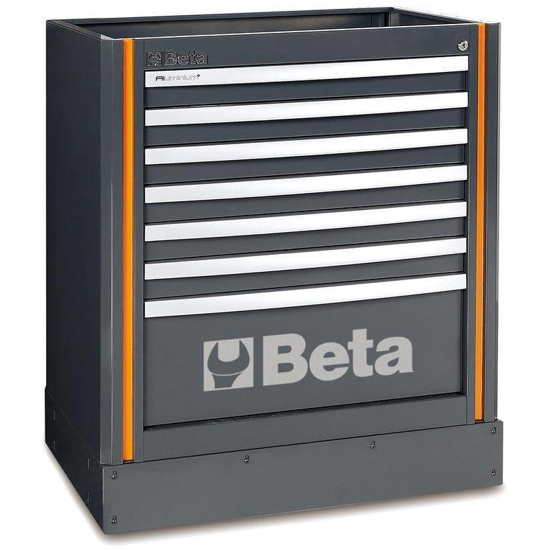 Beta Tools C55 M7-FIXED MODULE WITH 7 DRAWERS - Garage Tools Storage