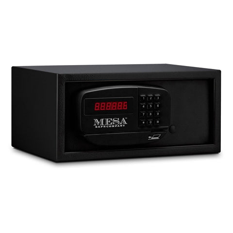 Image of MESA Safes Hotel Safe 0.4 cu. ft. w/ Electronic Lock,Black MH101E-BLK-KA