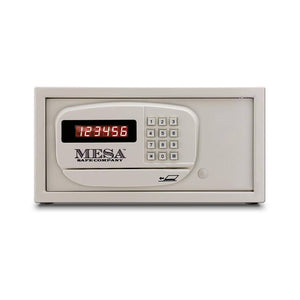 MESA Safes Hotel Safe w/ Card Swipe 0.4 cu.ft. White MH101-WHT